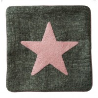 Star felt cushion